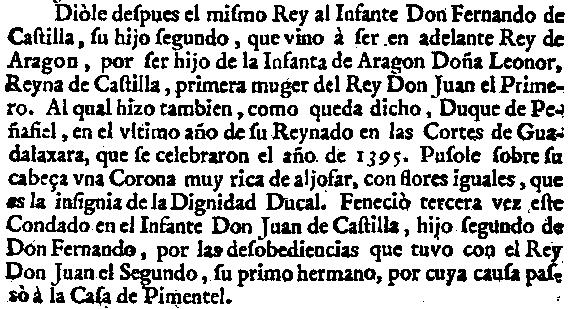 Text del ducat de peñafiel