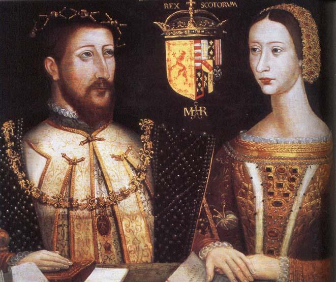 Jaume V i Maria