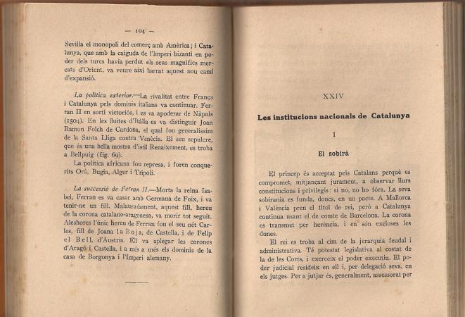 Història de Catalunya. Ferran Soldevila. Pag. 103,104