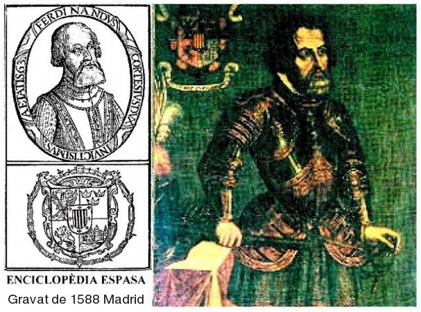 Ferran Cortès a l'enciclopèdia Espasa